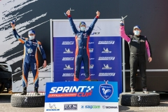 podium ewen hachez sprint cup nogaro 2021