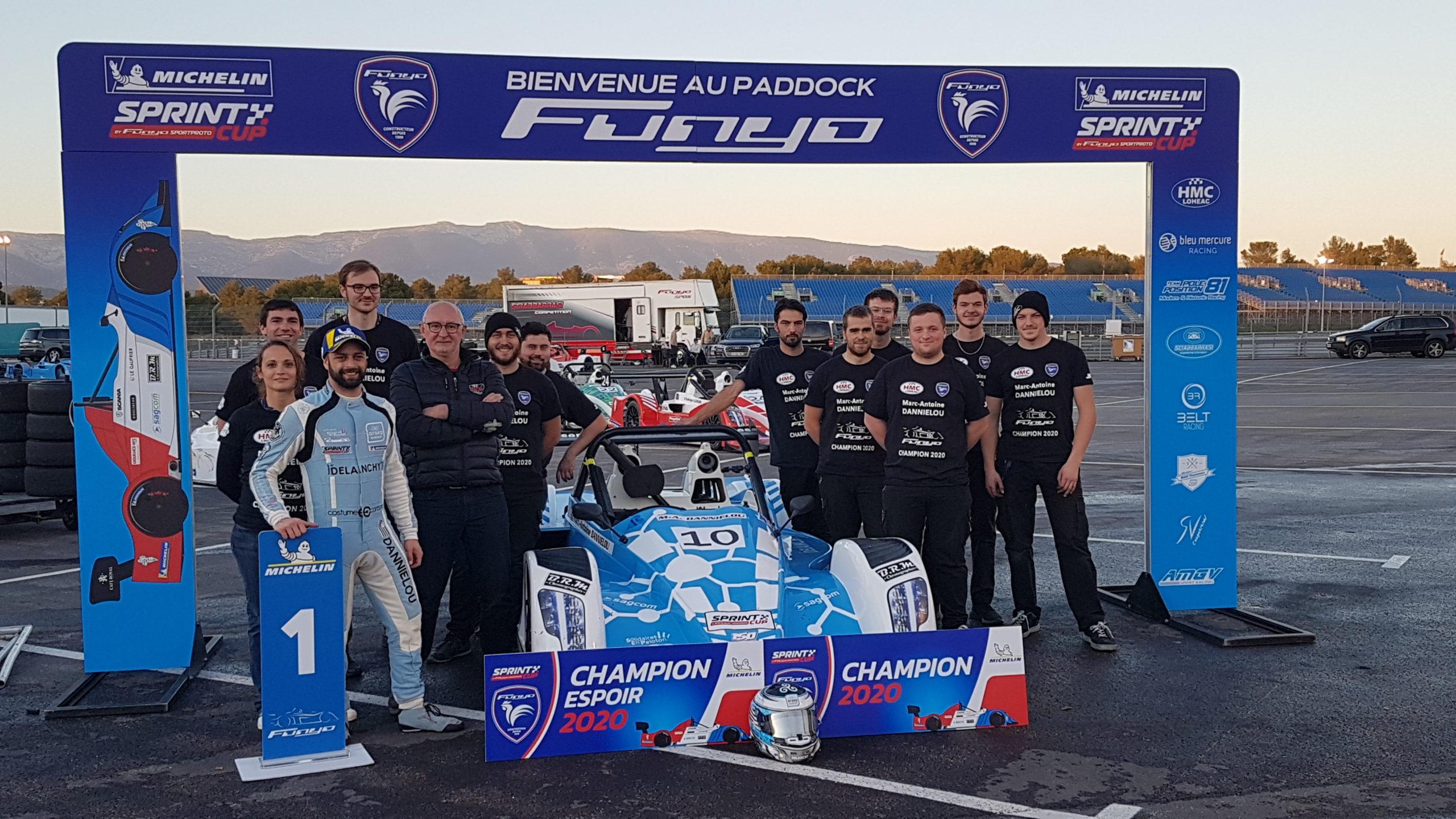 Team HMC Racing champion Sprint Cup 2020
